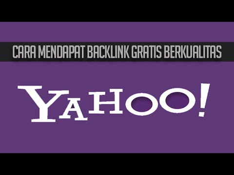 Cara Mendapat Backlink Berkualitas dari Yahoo