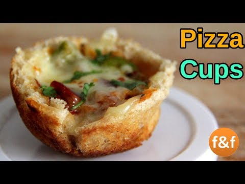 Pizza Cups in Appe Pan | No Oven Cheesy Pizza Cups Recipe - Kids Snacks Recipes