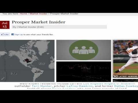Prosper Real Estate Report