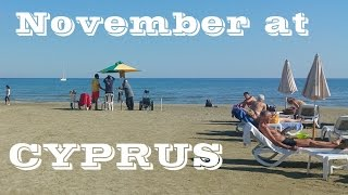 Cyprus weather in November