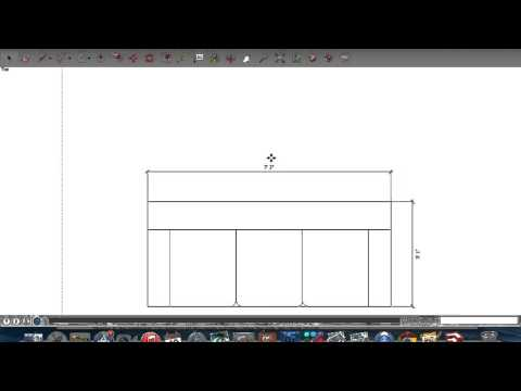 Sketchup Basic Tutorial #1: Adding Dimensions And Text