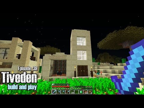 Minecraft Build & Play - Tiveden #39 - Library Build
