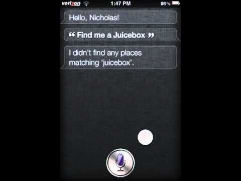 Siri ported to iPod 3rd Gen