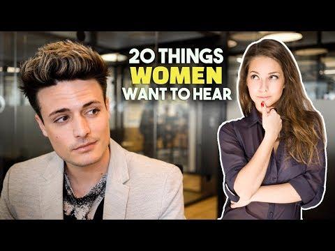20 Things Women ALWAYS Want To Hear | BluMaan 2018