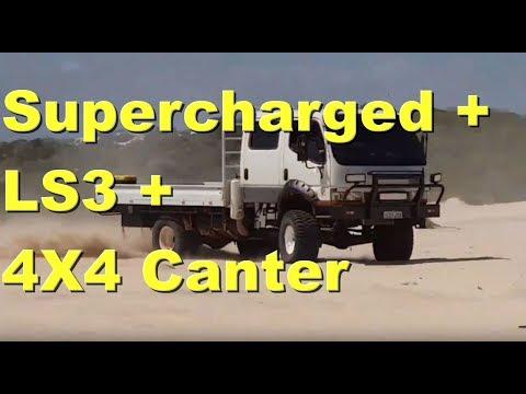 Supercharged LS3 Mitsubishi Canter