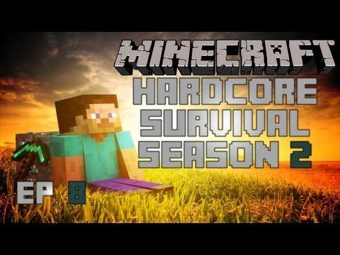 Minecraft: House Building Project! Part 3 - Hardcore Survival - S2 Ep8