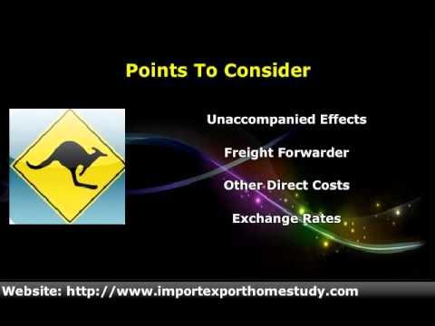 Online Jobs: Start An Import Export Business To Fulfill Australian Needs.