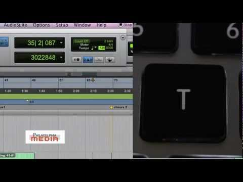 Pro Tools Production Tips (How to Tap Tempo)
