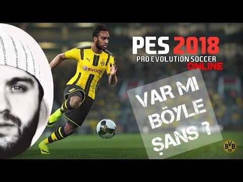 PES 2018 : Online Efsane Maç - Böyle Şans Var Mı Arkadaş ! (Co-op)