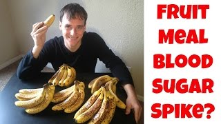 What A Huge Fruit Meal Did To My Blood Sugar (Raw Vegan Diet)