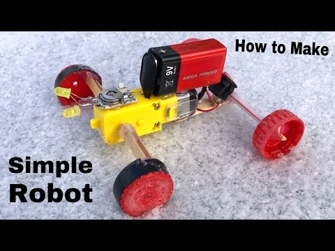 How to Make The Simplest Robot at Home