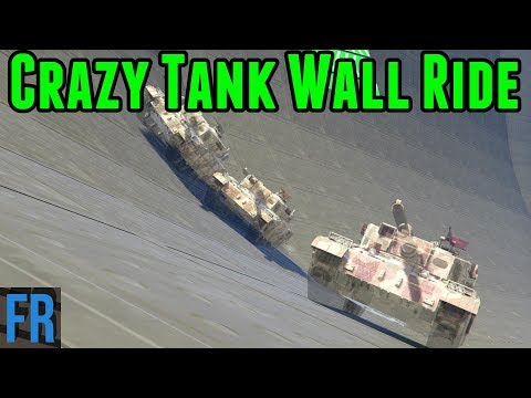 Gta 5 Challenge - Crazy Tank Wall Ride