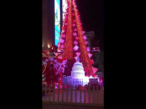 Admire giant artificial Christmas Tree in Vincom Center Nguyen Chi Thanh
