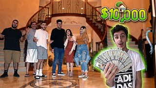 INSANE $10,000 TREASURE HUNT IN HUGE MANSION!! **impossible** | FaZe Rug