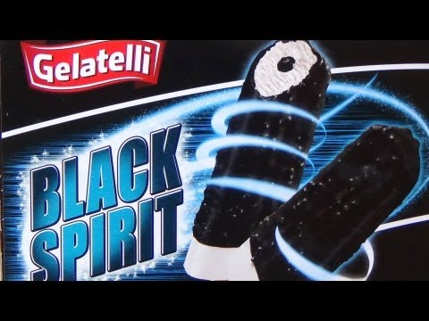 Liquorice Ice Cream [Black Spirit Gelatelli LIDL]