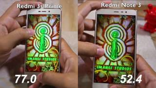 Redmi 3S Prime vs Redmi Note 3 Speed test and Multitasking Comparison