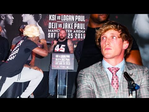KSI VS LOGAN PAUL PRESS CONFERENCE HIGHLIGHTS