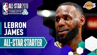 LeBron James 2019 All-Star Captain | 2018-19 NBA Season