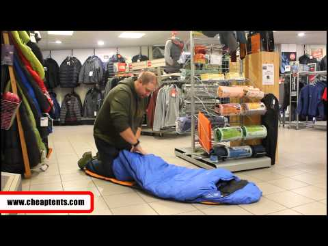 Packing A Sleeping Bag Into A Stuff Sack