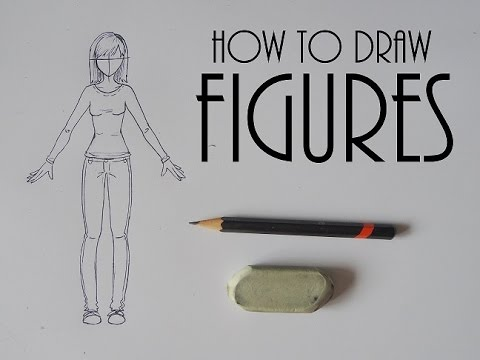 How To Draw Figures Narrated Step By Step Female Body