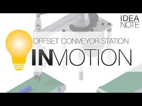 Offset Conveyor Station | MISUMI InCAD LIBRARY: IN MOTION | MISUMI USA