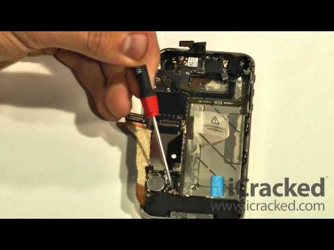 iPhone 4 (Verizon / CDMA) Screen Replacement (PART 1) - iCracked.com