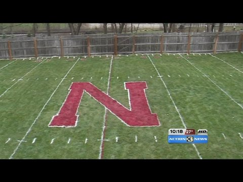 Brothers recreated Huskers field in backyard
