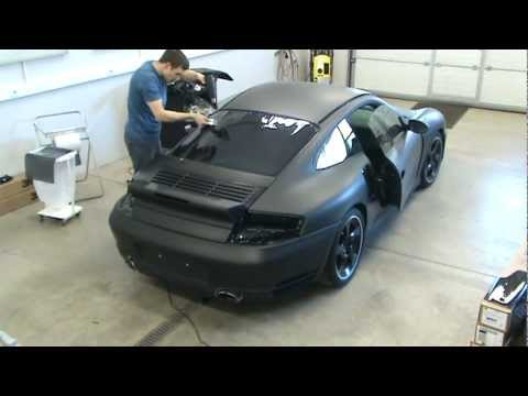 Window tinting 3M color stable Porsche 911