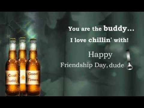 Happy Friendship Day! Cheers!!