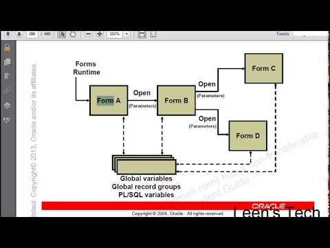 Oracle Forms 10g Tutorial in Bangla: Introducing Multiple Form Applications