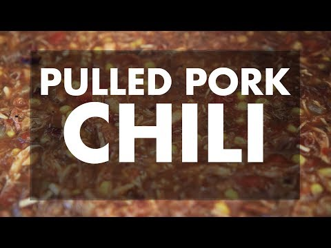 Making Chili with Leftover Pulled Pork