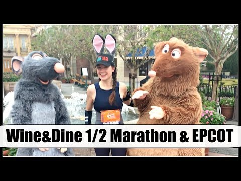 Disney Vlog #4: HALF MARATHON & EPCOT   Nov. 2017 Disney World Trip