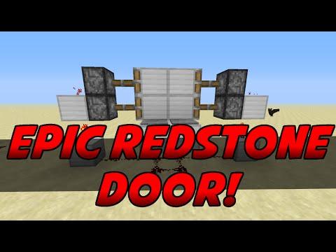 Minecraft PS3 & Xbox - SIMPLE EPIC REDSTONE DOOR - (PS4/XboxOne)
