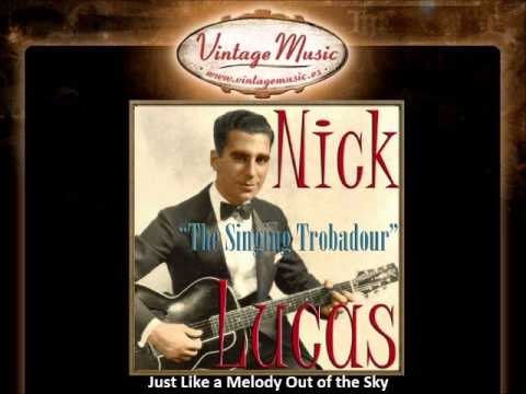 Nick Lucas - Just Like a Melody Out of the Sky (VintageMusic.es)