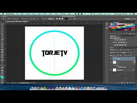 How to create a clean professional logo using Adobe Photoshop CC
