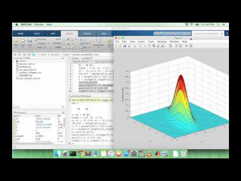Learn MATLAB Episode #31: Multivariate Gaussian