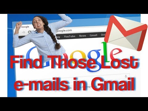 How to find lost emails in g-mail Spam Folder - where is my missing e-mail?