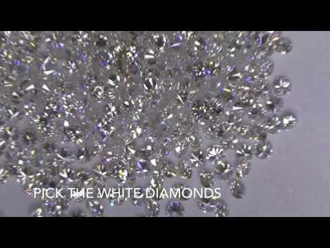 Modern - Art/Deco - Sapphire Diamond Ring