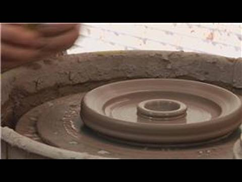 Making a Clay Double Walled Bowl : Double Walled Bowl Clay Support
