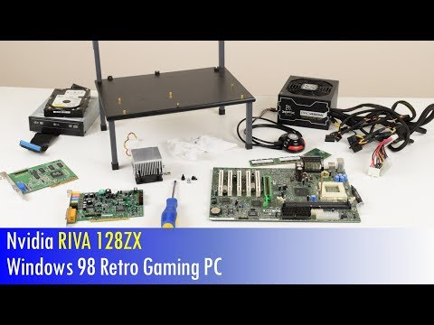 Building a Nvidia RIVA 128ZX Windows 98 Retro Gaming PC
