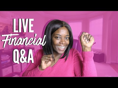 Live Financial Q&A | Debt Free Friday | 2018 Budget