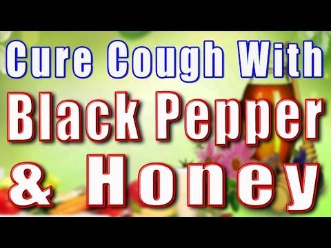 CURE COUGH WITH BLACK PEPPER & HONEY II काली मिर्ची और शहद से खाँसी का उपचार II