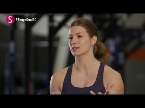 The 10-Minute Kettlebell Circuit | #CrushYourGoals with Jen Widerstrom | SHAPE
