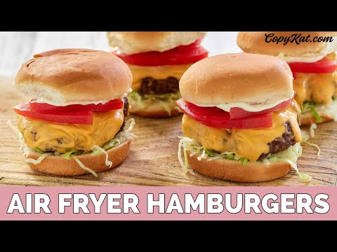 How to Make Air Fryer Burgers
