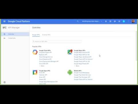 Creating your Google Maps API Key