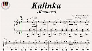 Kalinka- Easy Clarinet Sheet Music
