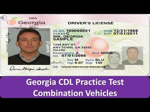 Georgia CDL Practice Test Combination Vehicles