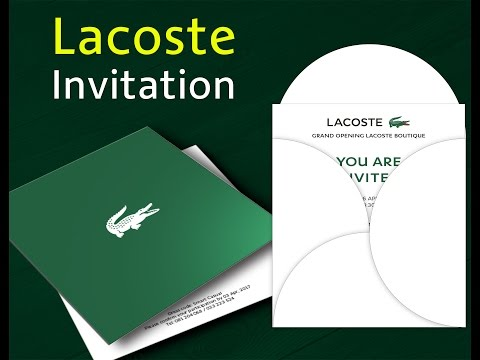 Create Invitations of Grand Opening Invitation Online free Lacoste
