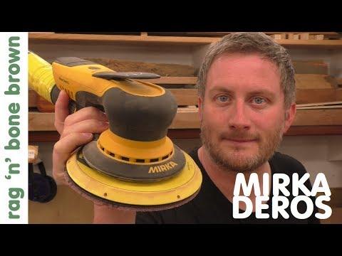 Mirka DEROS Random Orbit Sander Review