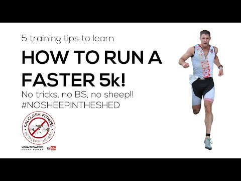 How to run a faster 5k | 5 tips that work